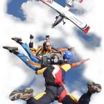 lancio tandem paracadute