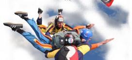 Come funziona il lancio in tandem paracadute?